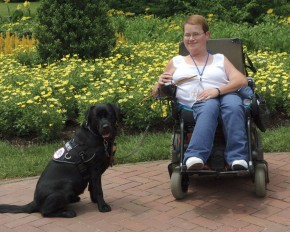 Amy and her CPL partner, Magee