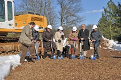 Groundbreaking on the Marian S. Ware Program Services Center - March 2017