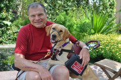 """John & Sheeba, Class of Summer 2014 – """"She has helped improve my physical well-being, as well as being a great companion."""""""