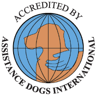 Assistance Dogs International badge