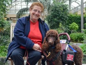 Deanie & Service Dog Carlos