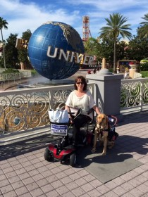 Renee and Ranger Universal Studios