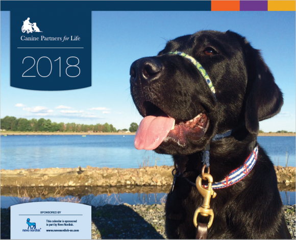2018 Calendars are on sale now! | Canine Service & Assistance Dogs