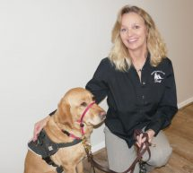 cpl trainer with a service dog